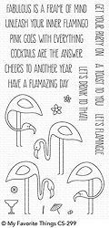 My Favorite Things - Clear Stamp - Let's Flamingle