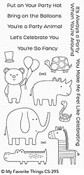 My Favorite Things - Clear Stamp - Safari Party