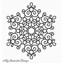 My Favorite Things - Cling Rubber Stamps - BG Mesmerizing Mandala Background