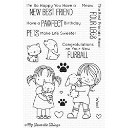 My Favorite Things - Clear Stamp - New Best Friend