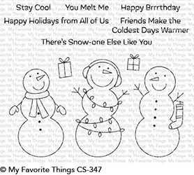 My Favorite Things - Clear Stamp - Frosty Friends