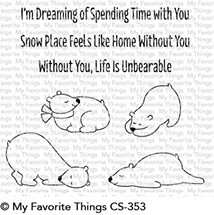 My Favorite Things - Clear Stamp - Unbearably Cute