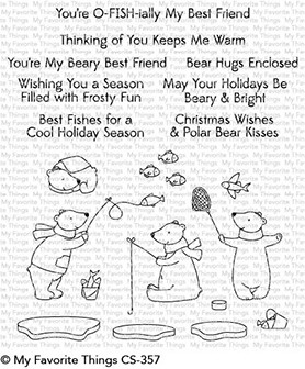 My Favorite Things - Clear Stamp - Beary Best Friends