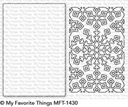 My Favorite Things - Die-namics - Snowflake Window