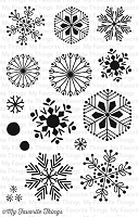 My Favorite Things - Clear Stamp - Snowflake Flurry