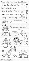 My Favorite Things - Clear Stamp - Polar Pals