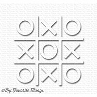 My Favorite Things - White Tic Tac Toe