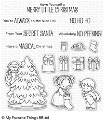 My Favorite Things - Clear Stamp - BB Secret Santa