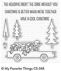 My Favorite Things - Clear Stamp - Cool Christmas