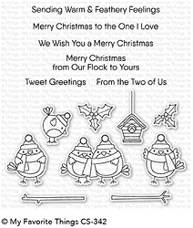 My Favorite Things - Clear Stamp - Tweet Holidays