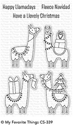 My Favorite Things - Clear Stamp - Happy Llamadays