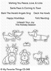 My Favorite Things - Clear Stamp - Deck the Howls