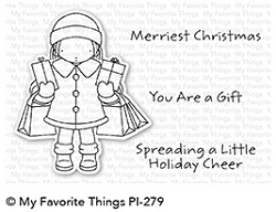 My Favorite Things - Clear Stamp - Pure Innocense Holiday Cheer