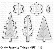 My Favorite Things - Die-namics - Trio of Trees