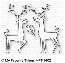 My Favorite Things - Die-namics - Delightful Deer