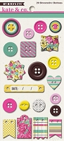 My Mind's Eye - Kate & Co. Cambridge Court Collection - Decorative Buttons