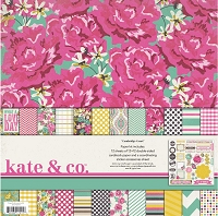 My Mind's Eye - Kate & Co. Cambridge Court Collection - Paper & Accessory Pack (Collection Kit) :)