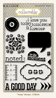 My Minds Eye - Collectable by Jen Allyson - Clear Stamp - Unforgettable