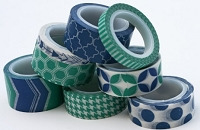 My Minds Eye - Decorative Tape - Emerald & Blue