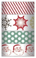 My Minds Eye - Mistletoe Magic Collection - Decorative Tape
