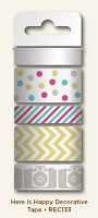My Mind's Eye - Record It Collection by Jen Allyson - Here Is Happy - Decorative Tape :)