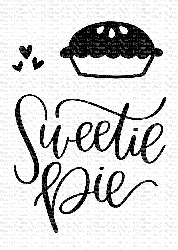 My Favorite Things - Clear Stamp - Sweetie Pie