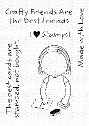 My Favorite Things - Clear Stamp - Pure Innocence Crafty Friends