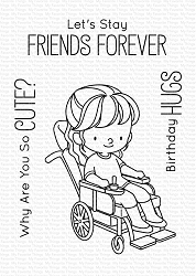 My Favorite Things - Clear Stamp - BB Friends Forever