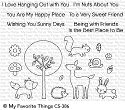 My Favorite Things - Clear Stamp - Sweet Spring Friends