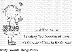 My Favorite Things - Clear Stamp - Pure Innocence Bundles of Love