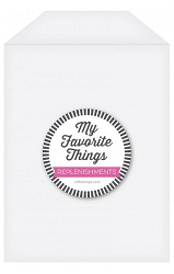 My Favorite Things - Large Clear Storage Pockets (50pk - 5.5x7.5)