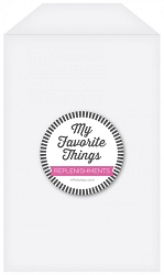 My Favorite Things - Tall Clear Storage Pockets (25pk - 5.75x8.5)