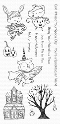 My Favorite Things - Clear Stamp - SY Spooktacular Friends