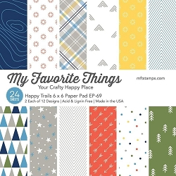 My Favorite Things - Happy Trails 6x6 paper pad