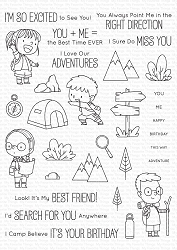 My Favorite Things - Clear Stamp - BB Adorable Adventures