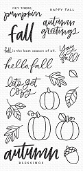 My Favorite Things - Clear Stamp - Autumn Blessings