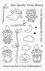 My Favorite Things - Clear Stamp - Halloween Hoo