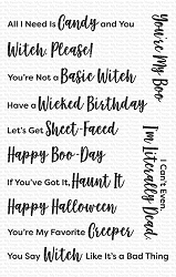 My Favorite Things - Clear Stamp - Sassy Pants Spooktacular
