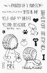 My Favorite Things - Clear Stamp - BB You Have My Heart