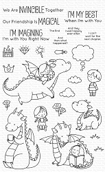 My Favorite Things - Clear Stamp - BB Magical Friends