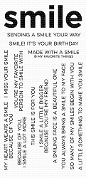 My Favorite Things - Clear Stamp - Smile Maker