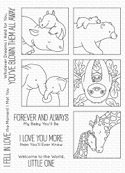 My Favorite Things - Clear Stamp - BB I'll Love You Forever