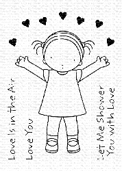 My Favorite Things - Clear Stamp - Pure Innocence Love Is in the Air