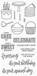 My Favorite Things - Clear Stamp - Birthdays Take the Cake