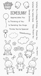 My Favorite Things - Clear Stamp - BB Somebunny