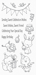 My Favorite Things - Clear Stamp - SY Sending Sweet Celebration Wishes