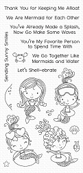 My Favorite Things - Clear Stamp - Mermaid for Each Other