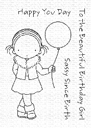 My Favorite Things - Clear Stamp - Pure Innocence Happy You Day