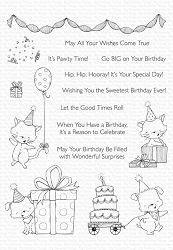 My Favorite Things - Clear Stamp - SY Pawty Time