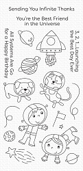 My Favorite Things - Clear Stamp - Best Friends in the Universe